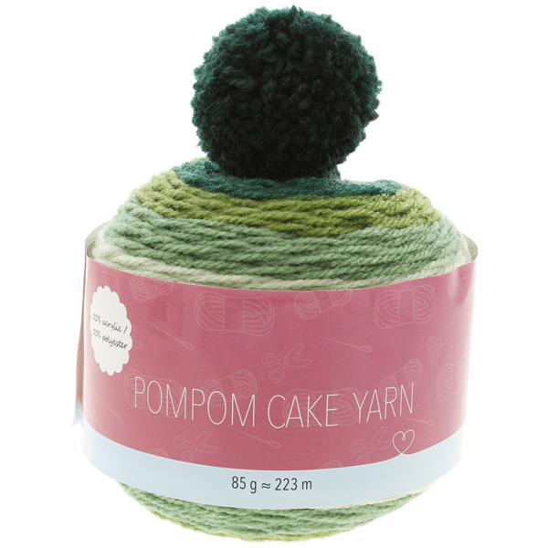 Pompon Cake Strickgarn