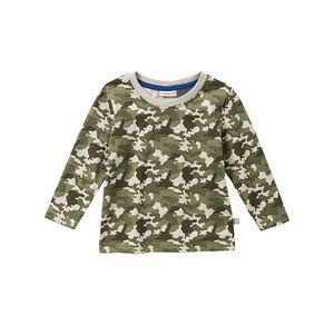 Liegelind Baby-Jungen-Shirt in Camouflage-Optik