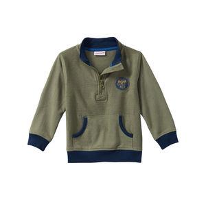 Liegelind Baby-Jungen-Sweatshirt mit kleinem Reßverschluss