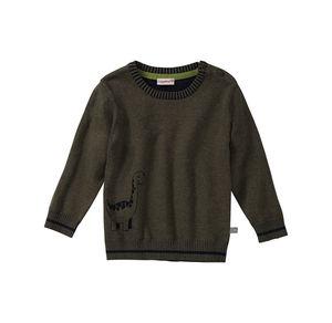 Liegelind Baby-Jungen-Pullover mit Kontrast-Streifen