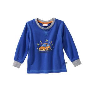 Liegelind Baby-Jungen-Shirt mit Auto-Frontaufdruck
