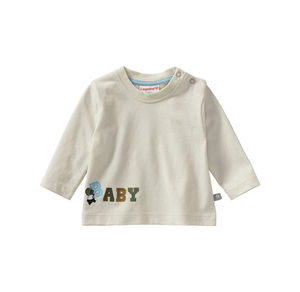 Liegelind Baby-Jungen-Shirt mit Buchstaben-Aufdruck