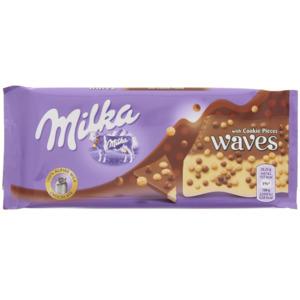 Milka Waves Biscuit Crumble