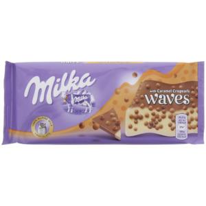 Milka Waves Caramel Crisp