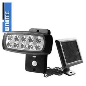 Solar-LED-Strahler mit Bewegungsmelder dreh-und neigbar Aktivierung über Bewegungsmelder oder Dauerbetrieb