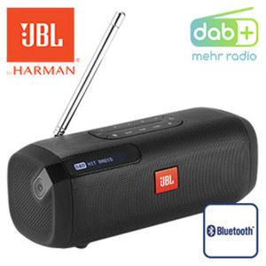 Tragbarer Bluetooth®-Lautsprecher Tuner bis zu 8 h Akkulaufzeit, DAB+/UKW-Tuner mit RDS,  Netz- oder Akkubetrieb