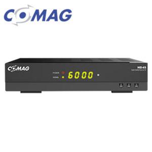 HDTV-Sat-Receiver HD45 4-stelliges Display, EPG, DiSEqC® 1.2, HDMI-/Scart-/USB-Anschluss, 12-Volt-Betrieb möglich