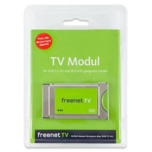 freenet TV DVB-T2 HD CI+-Modul schärferes Bild, Übertragung in Full-HD (1080p/50)