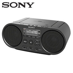 Stereo-CD/MP3-Boombox ZS-PS50 ID3-Titelanzeige, 2-Band-Tuner, Audio-In, USB-Anschluss, Netz- oder Batteriebetrieb