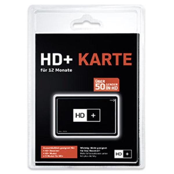 HD+-Karte für 12 Monate Fernsehen in brillanter HD-Qualität