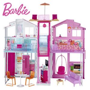Barbie 3 Etagen Stadthaus ab 3 Jahren