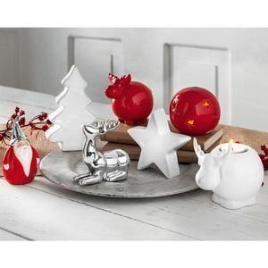 Bella Casa Keramik-Weihnachtsdeko
