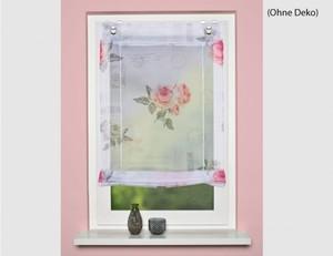 Bändchenrollo Amore rose