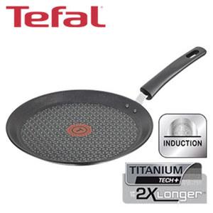 """Crêpespfanne """"Exception"""" - widerstandsfähige TEFAL-Titanium-Tech+®-Antihaft-Versiegelung - ideale für Crêpes und Pfannkuchen  - ca. 25 cm Ø"""