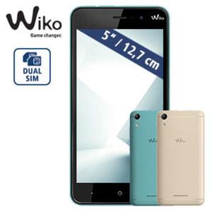Smartphone Lenny 4 · 2 Kameras (1,3 MP/5 MP) · 512-MB-RAM, 4-GB-Speicher · microSD™-Slot bis zu 32 GB · MiniSIM · Android™ 4.4