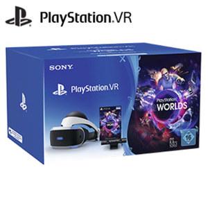 PS VR Pack bestehend aus: • PS VR Brille • Kamera • VR Worlds