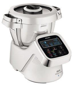 Krups Küchenmaschine mit Kochfunktion i Prep&Cook Gourmet HP6051, 1550 W, 4,5 l Schüssel