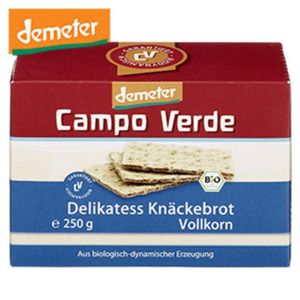 Bio Campo Verde  Demeter Knäckebrot versch. Sorten, jede 250-g-Packung