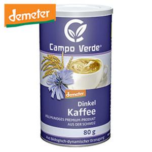 Campo Verde Demeter Bio Getreidekaffee oder Dinkelkaffee Instant jede 80/100-g-Packung