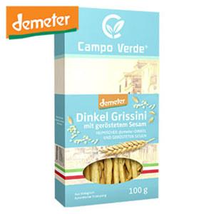 Campo Verde Demeter Grissini versch. Sorten, jede 100-g-Packung