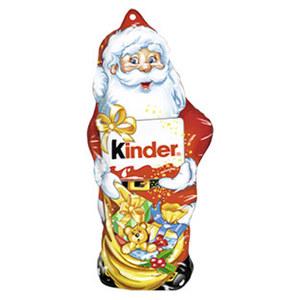 Kinder Schokolade Weihnachtsmann jedes 55-g-Stück