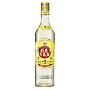 Havana Club Rum 3 Jahre 40 % Vol., jede 0,7-l-Flasche