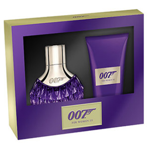 James Bond Geschenkpackung Woman II und III EDP und Bodylotion, je Set