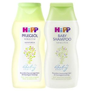 Hipp Babysanft Pflegeöl oder Shampoo versch. Sorten, jede 200-ml-Flasche