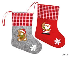 CASA Deco Weihnachtliches Filz-Sortiment