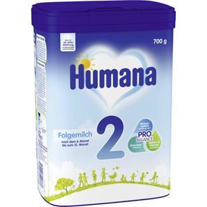 Humana Folgemilch 2 nach dem 6. Monat 15.70 EUR/1 kg