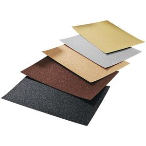 IDEENWELT Glitterkarton gold/silber/weißgold/braun/schwarz