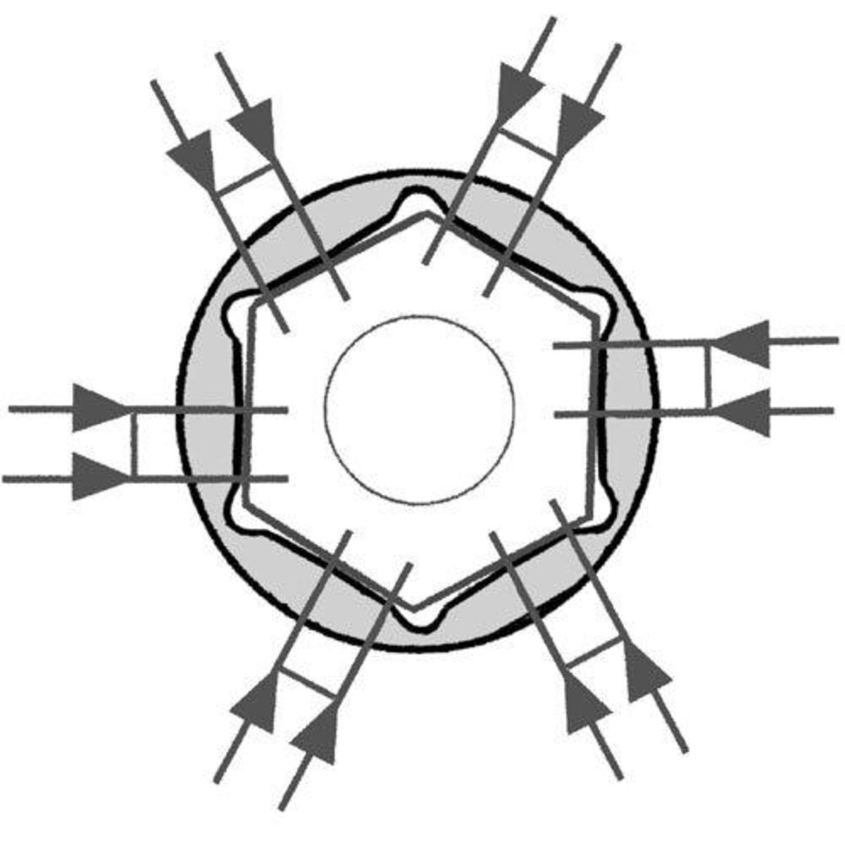 Bild 2 von Famex 584-FX-49 Steckschlüsselsatz, 86-tlg. - 4-32 mm