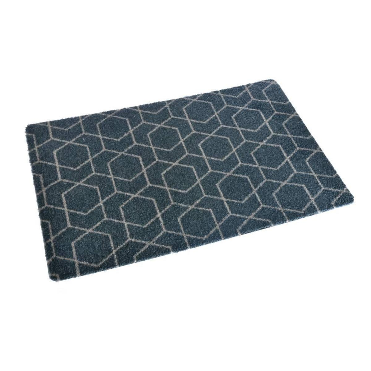 Bild 2 von acerto® BELIZE4 Badteppich – waschbarer Badvorleger 40x70 cm
