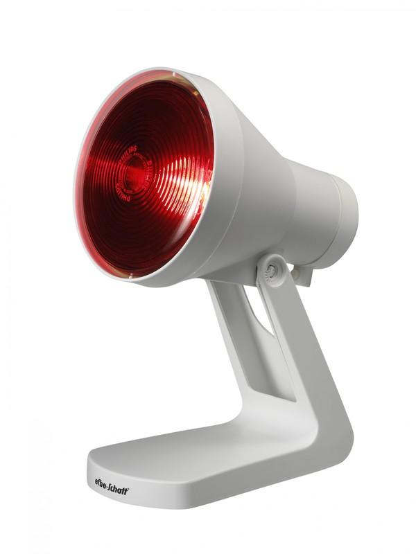 efbe-Schott Infrarotlichtlampe SC IR 812 N bei Erkältung und Muskelbeschwerden, 150 Watt