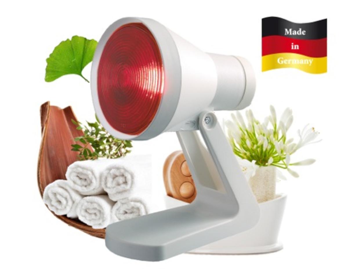 Bild 3 von efbe-Schott Infrarotlichtlampe SC IR 812 N bei Erkältung und Muskelbeschwerden, 150 Watt