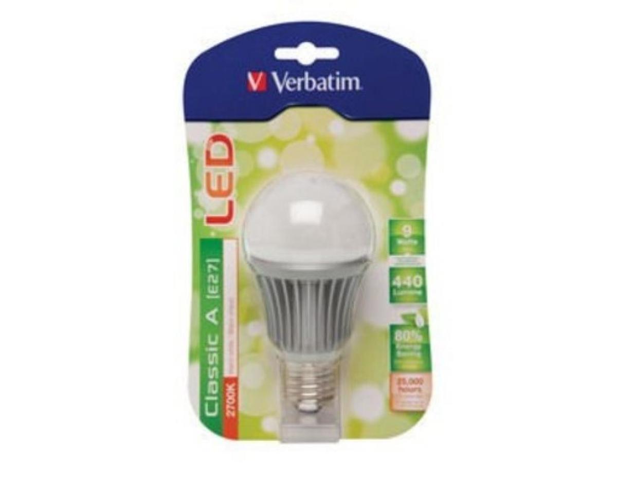 Bild 1 von Verbatim 52100 LED Strahler E27 9W