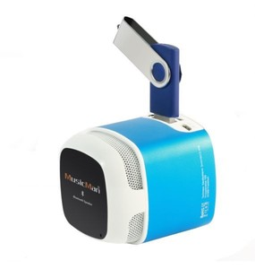 Musicman Makro Bluetooth Soundstation NFC-X6 Blau