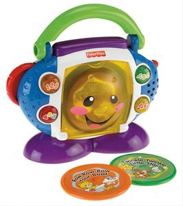 Mattel Fisher Price Lernspaß CD-Spieler