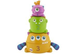 Mattel FNV36 Fisher-Price Bunte Stapelspaß-Monster
