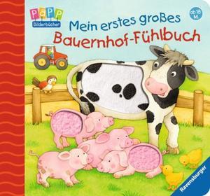 Ravensburger 43508 Mein erstes großes Bauernhof-Fühlbuch