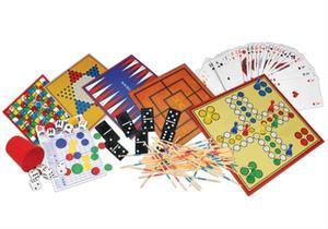 VEDES Natural Games Holz-Spielesammlung 200 in 1