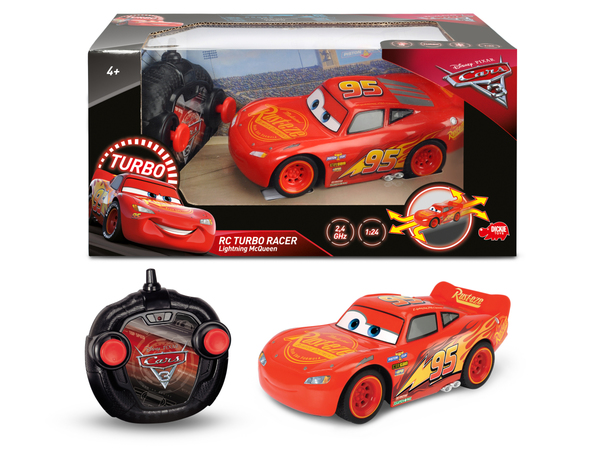 Dickie Spielzeug - RC Cars 3 Turbo Racer Lightning McQueen