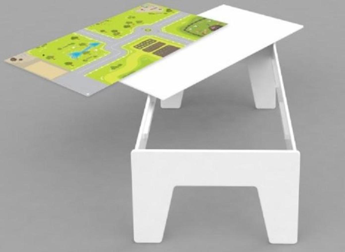 Bild 2 von Coemo Spieltisch Aktivitätentisch aus Holz