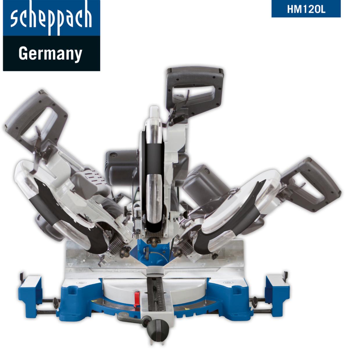 Bild 3 von Scheppach Kapp-Zugsäge HM120L