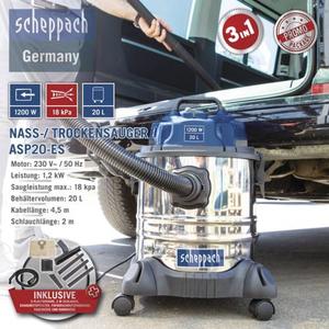 Scheppach Nass-/ Trockensauger ASP20-ES