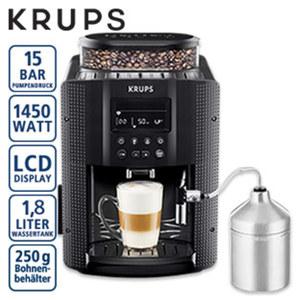 Kaffee-Vollautomat EA 816 RS · individuelle Einstellung von Kaffeestärke, Wassermenge und Temperatur · programmierbare Abschaltautomatik