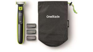 PHILIPS OneBlade Bundle inkl. 3 Aufsätze mit Reisebeutel