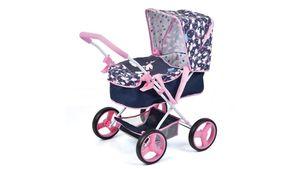 Hauck Toys for Kids - Puppenwagen Gini Unicorn mit abnehmbarer Softtasche, für Puppen bis 43 cm geeignet