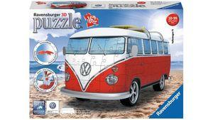 Ravensburger Puzzle - 3D Puzzle-Sonderformen - Volkswagen T1 - Surfer Edition, 162 Teile