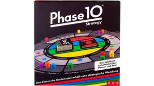 Mattel Games - Phase 10 Strategy Brettspiel